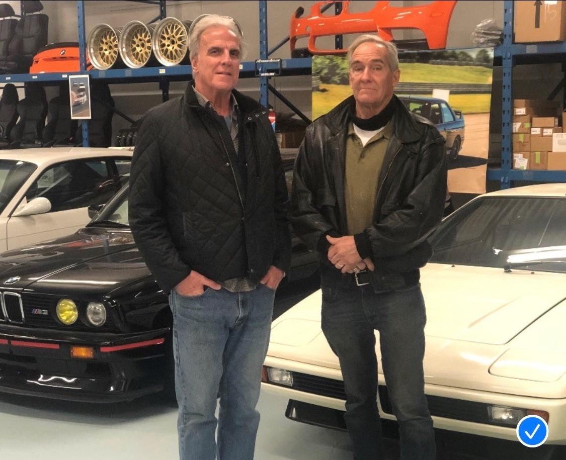 William Kavanagh and Jeff Netherton